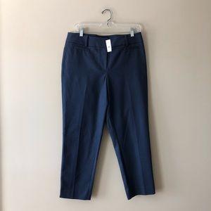 LOFT navy blue Julie fit pants